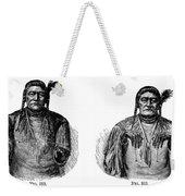 Native Americans: Sign Language Weekender Tote Bag
