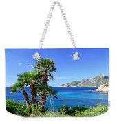 Native Fan Palms In Sant Elm Weekender Tote Bag