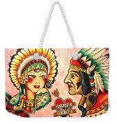 Native Flash Sheet Weekender Tote Bag