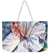 Native Hawaiian Hibiscus Weekender Tote Bag
