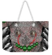 Native Indian Skull Art Weekender Tote Bag