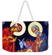 Nativity Feast Weekender Tote Bag