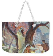 Nativity Weekender Tote Bag by Frederic Montenard