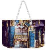 Nativity Grotto 1950 Weekender Tote Bag