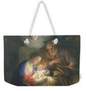 Nativity Scene Weekender Tote Bag by Anton Raphael Mengs