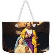 Christmas Nativity Scene Weekender Tote Bag