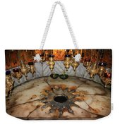 Nativity Star Weekender Tote Bag