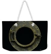 Natuical - Brass Porthole Weekender Tote Bag