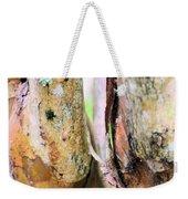 Natural Abstract Crepe Mertle Weekender Tote Bag