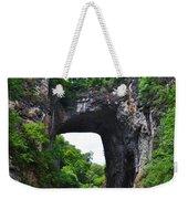 Natural Bridge In Rockbridge County Virginia Weekender Tote Bag