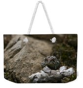 Natural Expression Of A Fowler Toad  Weekender Tote Bag