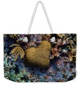 Natural Heart Weekender Tote Bag