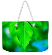Natural Leaves Background Weekender Tote Bag