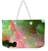Natural Oak Leaf Abstract Weekender Tote Bag
