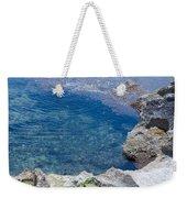 Natural Pool Of Seawater Weekender Tote Bag