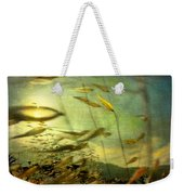 Nature #12. Strong Wind Weekender Tote Bag