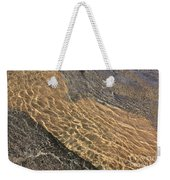 Nature Abstract - Clear Lake Tahoe Water  Weekender Tote Bag