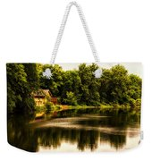 Nature Center Salt Creek In August Weekender Tote Bag