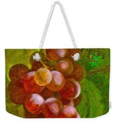Nature Goodness Grapes On The Vine Weekender Tote Bag