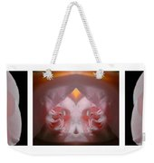 Nature In Abstract Camellia Weekender Tote Bag
