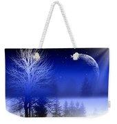 Nature In Blue  Weekender Tote Bag