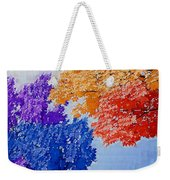 Nature In Its New Colors Weekender Tote Bag