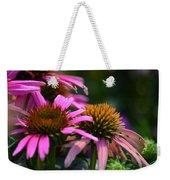 Nature Made Echinacea Weekender Tote Bag