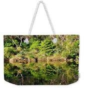 Nature Mirrored Weekender Tote Bag