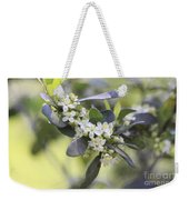 Nature Path Flower Weekender Tote Bag