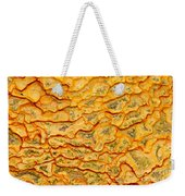 Nature Pattern Iron Oxide Mineral Sediment Crust Weekender Tote Bag