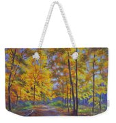 Nature Trail Turn Of Autumn Weekender Tote Bag by Fiona Craig