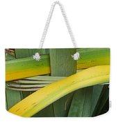 Nature Weaving Weekender Tote Bag