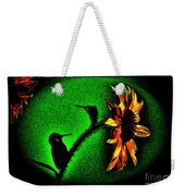 Nature Went On Although The Moon Turned Green Weekender Tote Bag