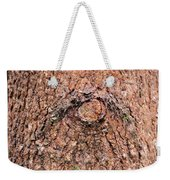 Nature's Abstract Eye Weekender Tote Bag