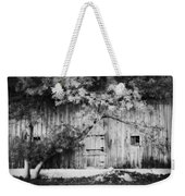 Natures Awning Bw Weekender Tote Bag