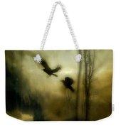 Nature's Blur Weekender Tote Bag