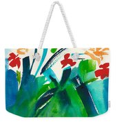 Natures Bouquet Abstract Weekender Tote Bag