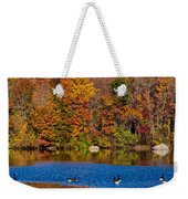 Natures Colorful Autumn Weekender Tote Bag
