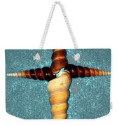 Natures Cross Weekender Tote Bag