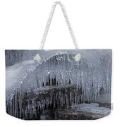 Natures Frozen Cathedral Sculpture Weekender Tote Bag