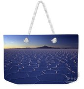 Natures Geometry Salar De Uyuni Weekender Tote Bag