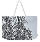 Natures Ice Sketch Abstract Weekender Tote Bag