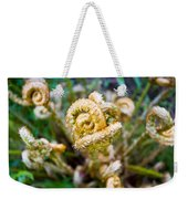 Natures Knot-how To Twist Weekender Tote Bag