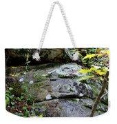 Nature's Mossy Boulders Weekender Tote Bag
