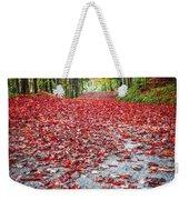 Nature's Red Carpet Weekender Tote Bag