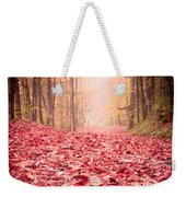 Nature's Red Carpet Revisited Weekender Tote Bag