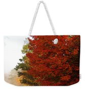 Nature's Red Highlights Weekender Tote Bag