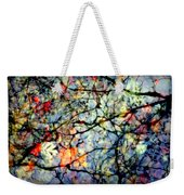 Natures Stained Glass Weekender Tote Bag by Karen Wiles