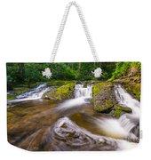 Nature's Water Slide Weekender Tote Bag