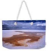 Natures Watercolours On The Salar De Uyuni Weekender Tote Bag